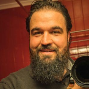 Neuer Bartschnitt aufgenommen von Vorne.