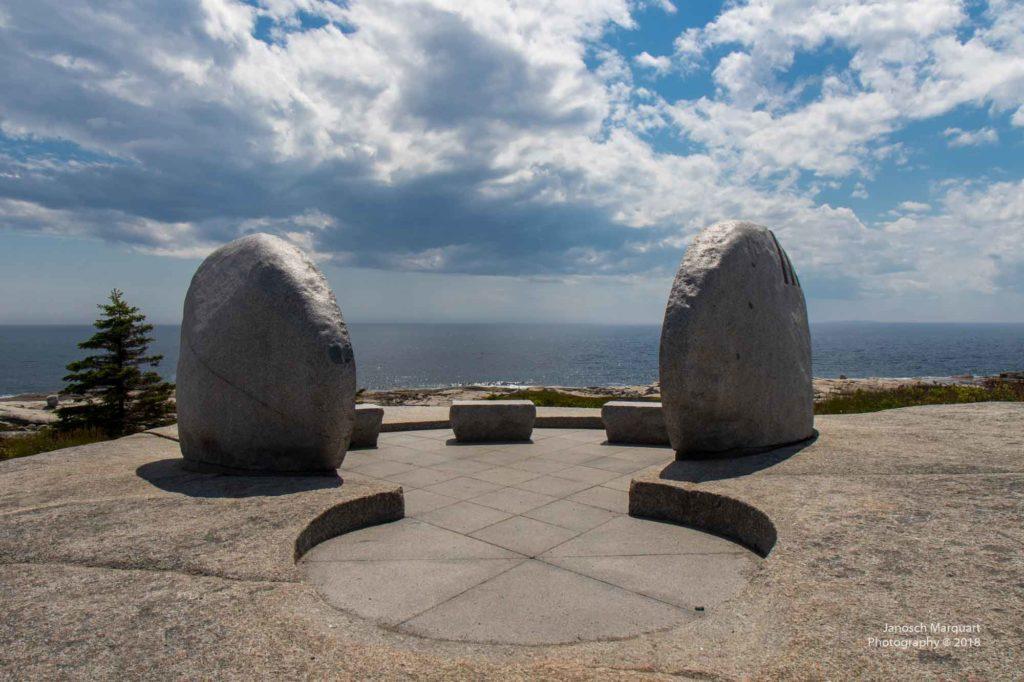 Foto der Gedenkstätte des SR111 Memorials