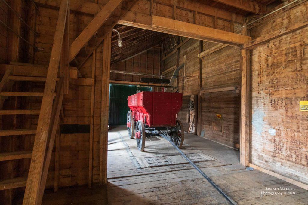 Kutschenwagen in Anlieferung für Grain Elevator