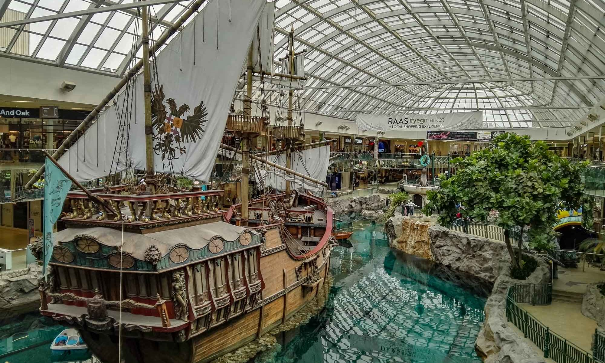 Piratenschiff in West Edmonton Mall