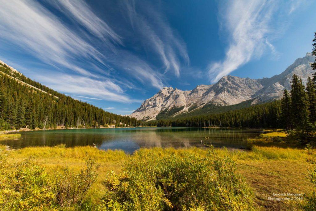 Elbow Lake im Herbst