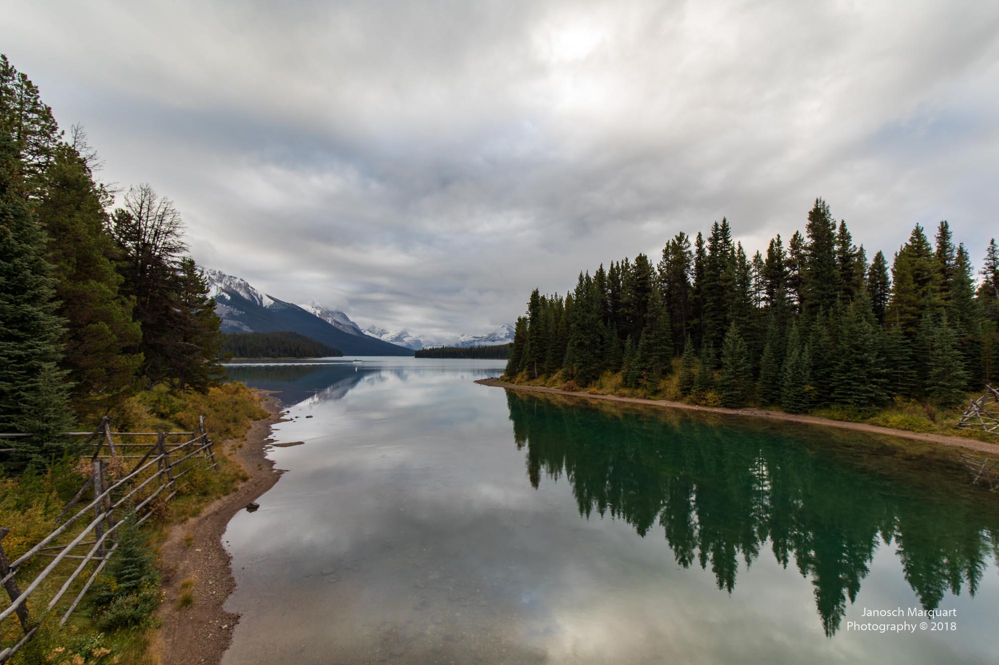 Foto des Maligne Lakes