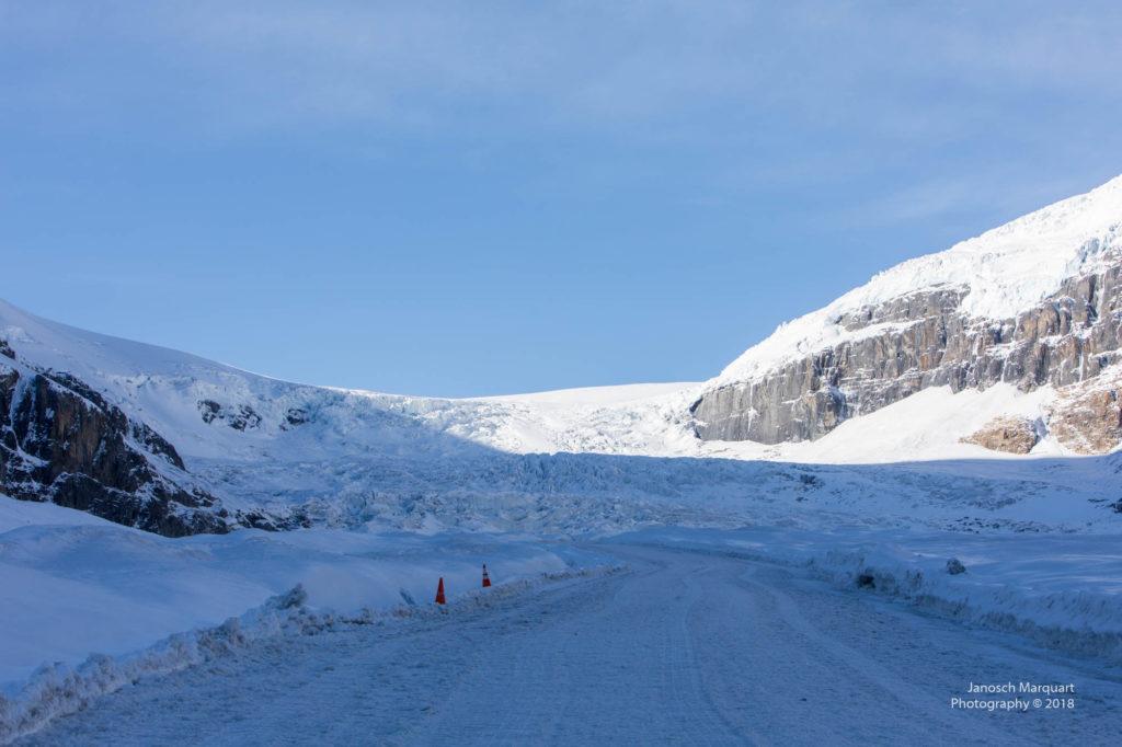 Blick auf das Columbia Icefield.