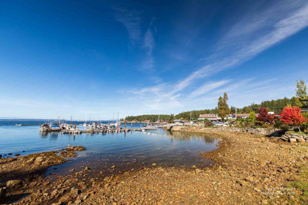 Blick auf den Hafen von Lund.