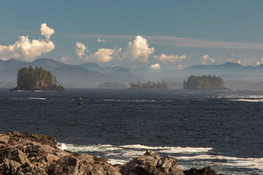 Inseln vor der Küste von Ucluelet.