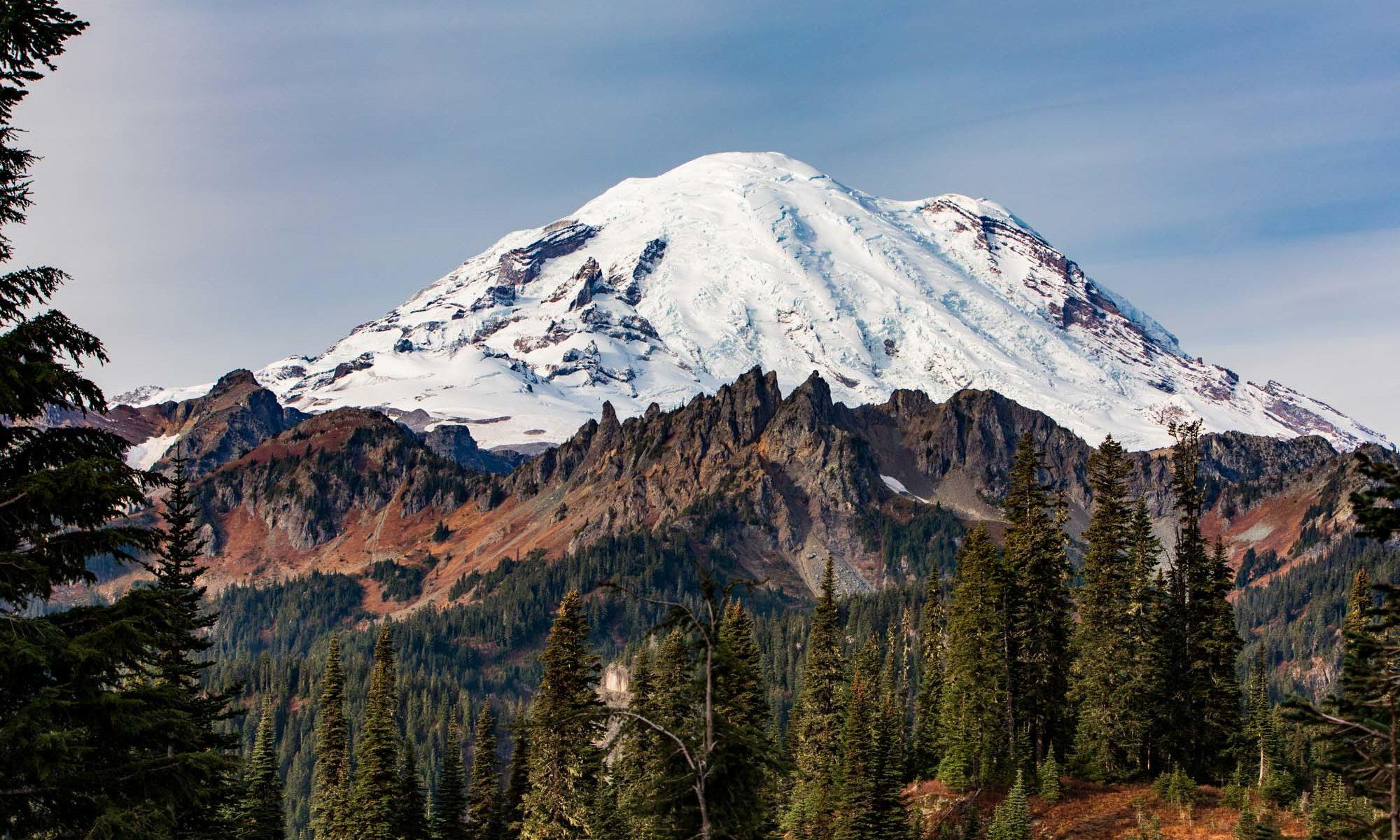 Ostflanke des Mt. Rainier