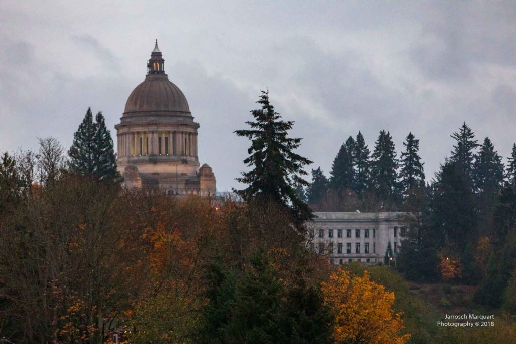 Foto des Washington State Capitols.