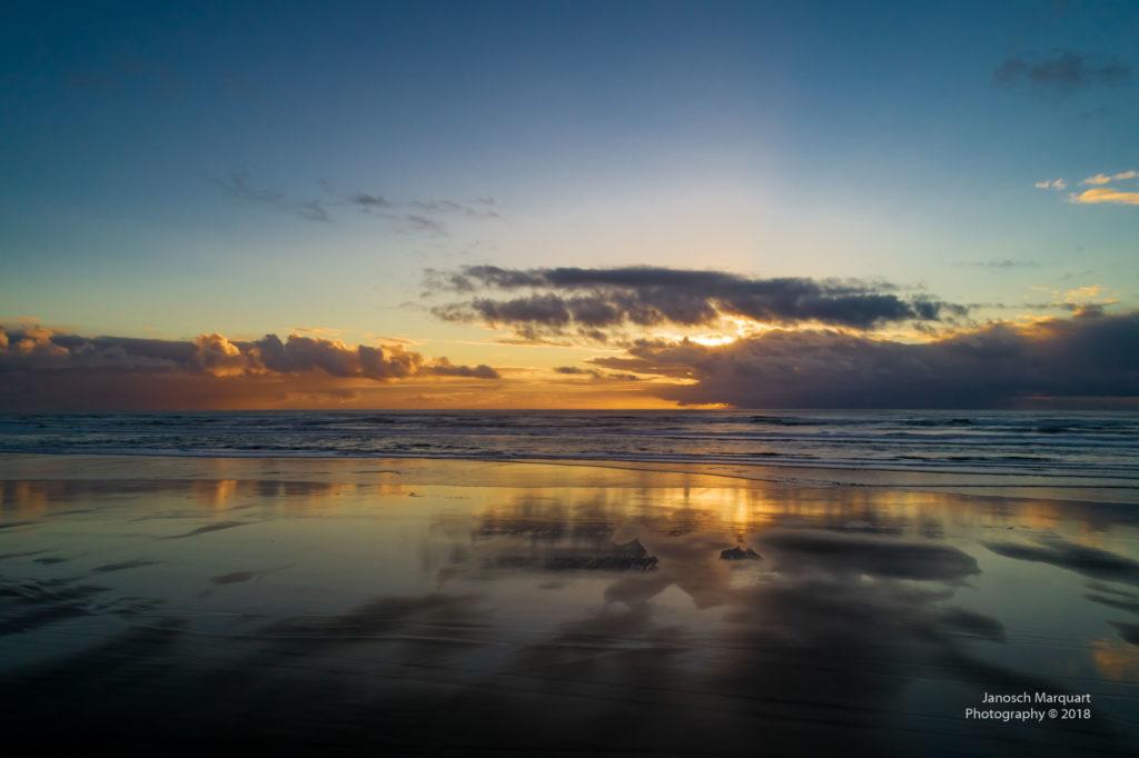 Sonnenuntergang am Pazifik.