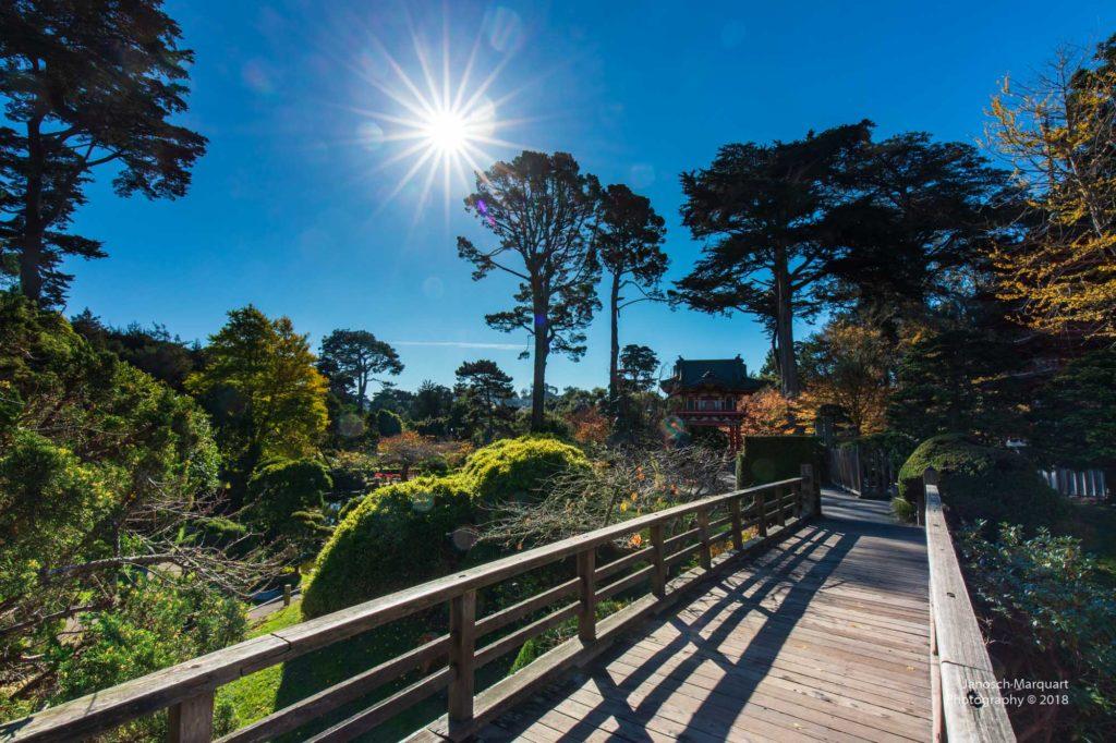 Japanischer Garten in San Francisco.