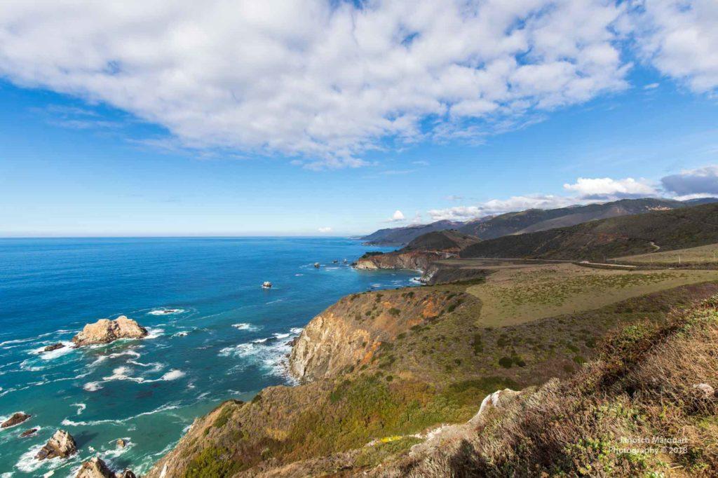 Pazifikküste in Kalifornien - Big Sur.