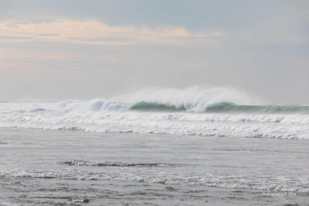 Impossante Wellen am Pazifik