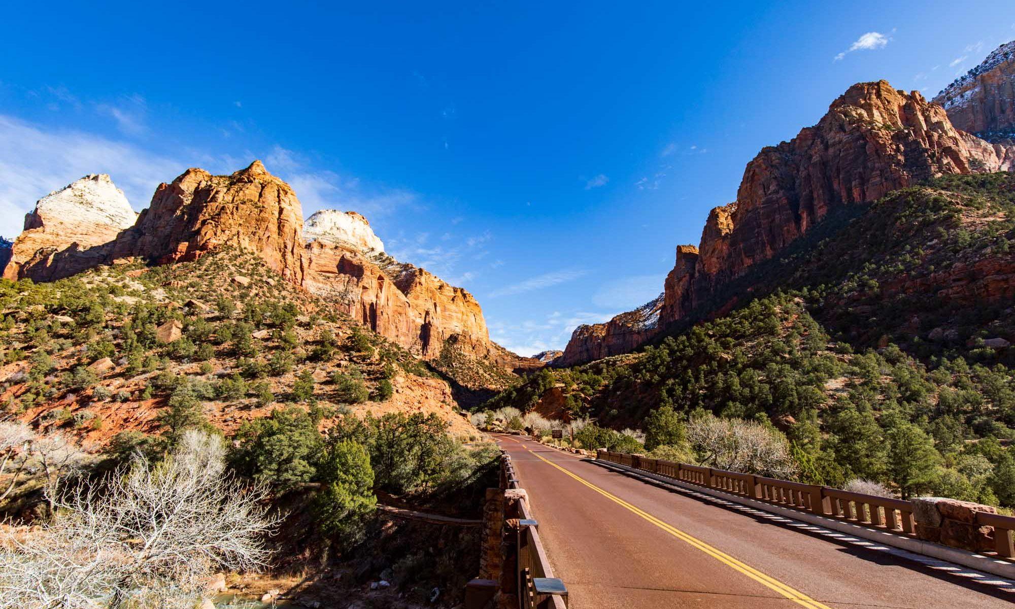 Brücke im Zion Nationalpark