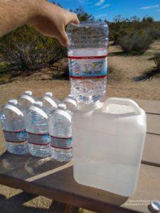 Trinkwasser umfüllen in Campervan