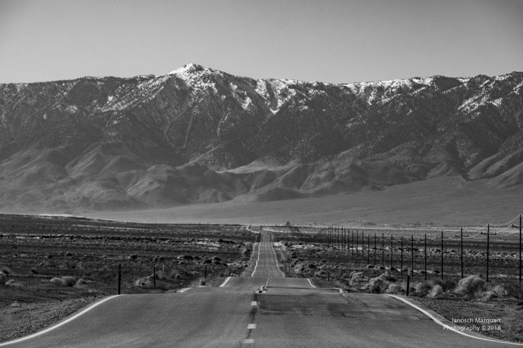 Blick auf die High Sierra