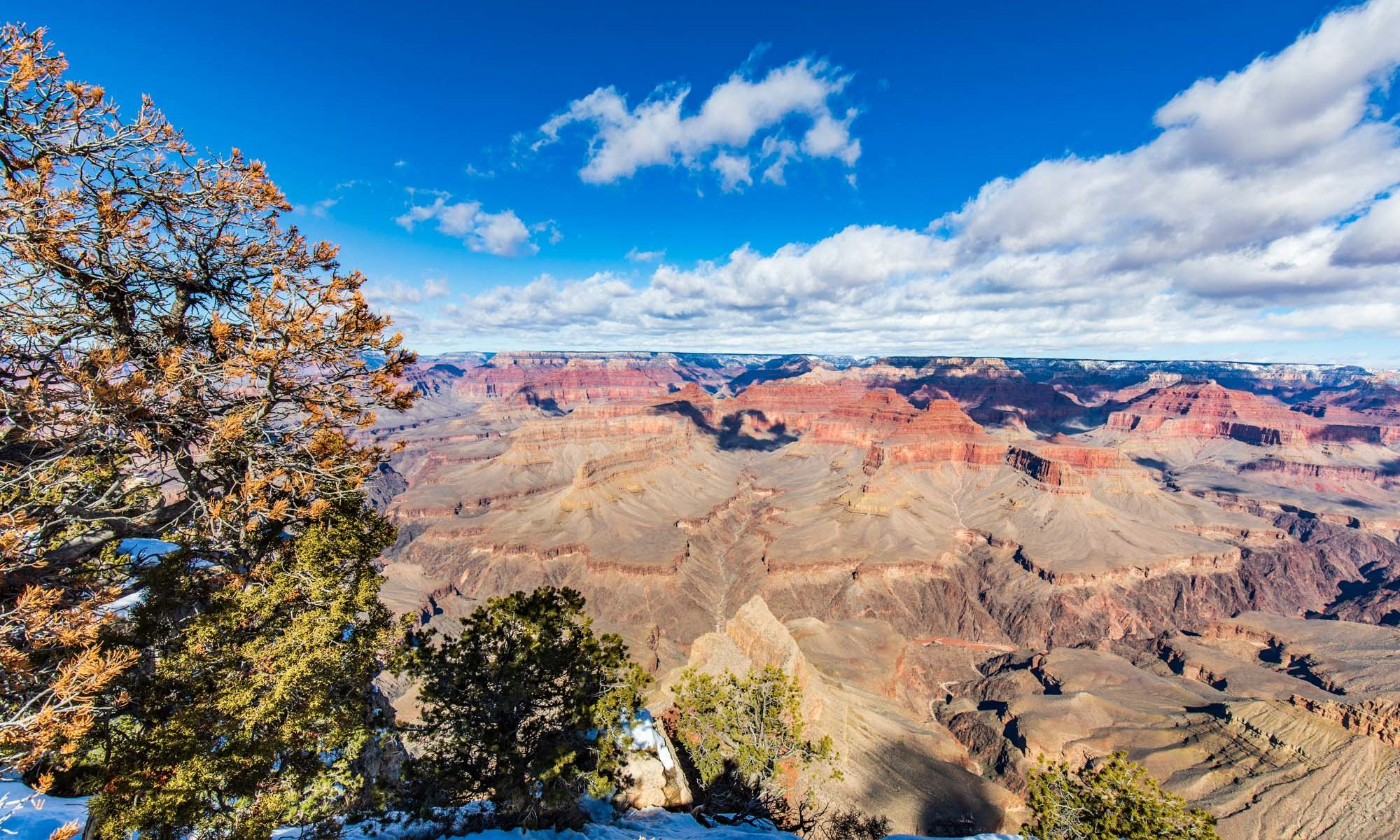 Blick in den Grand Canyon.