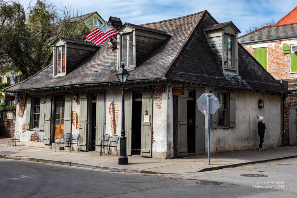 Altes Haus in New Orleans.